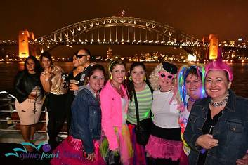 """Strictly 80's"" Sydney Harbour Dinner Cruise $45 p.p inc. Buffet"