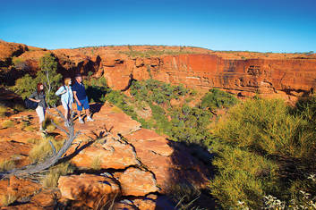 Kings Canyon & Outback Panoramas (Returns to Ayers Rock)(Y19)